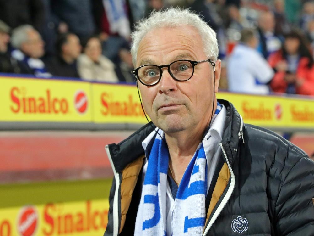Dietz ist nicht weiter Vizepräsident des MSV Duisburg