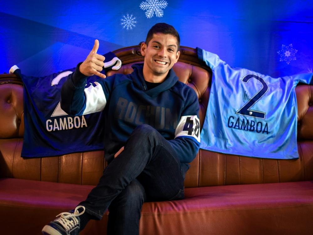 Cristian Gamboa freut sich über die Vertragsverlängerung beim VfL Bochum