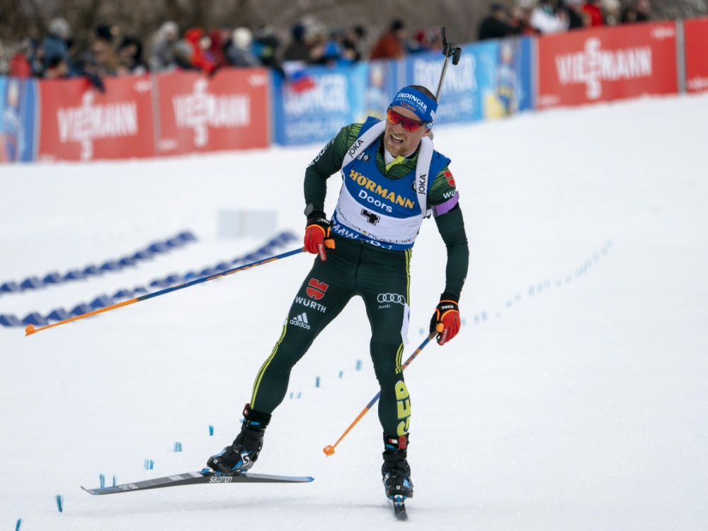 Erik Lesser ist im Schnee zu Hause, mag aber kein Weihnachten
