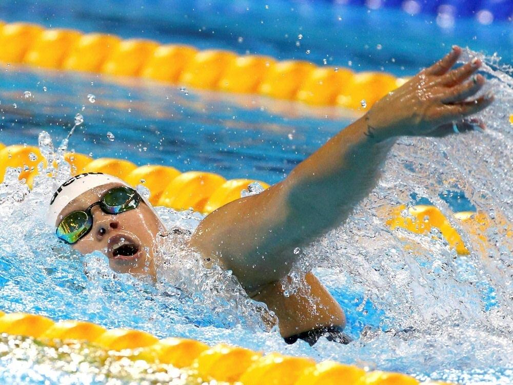 Sarah Köhler gewinnt Silber über 400 m Freistil