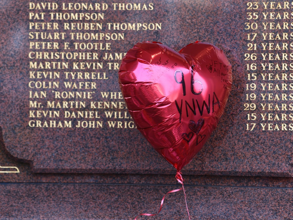 96 Reds-Anhänger kamen bei der Katastrophe ums Leben