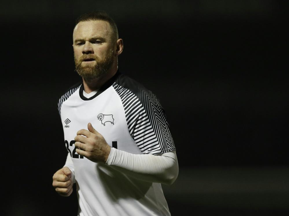 Trifft erstmals für Derby County: Wayne Rooney