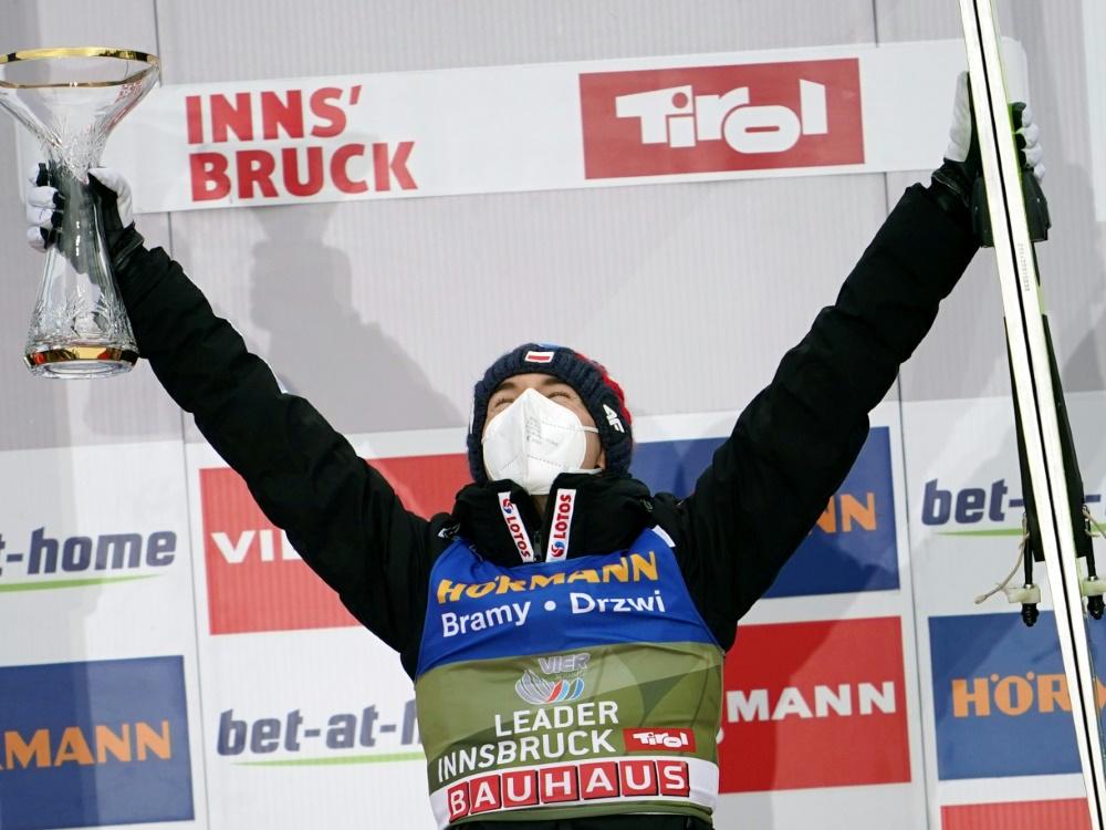 Kamil Stoch ist Favorit auf den Sieg der Vierschanzentournee
