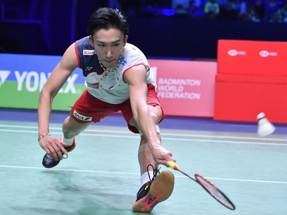 Kento Momota gewann die German Open im Badminton