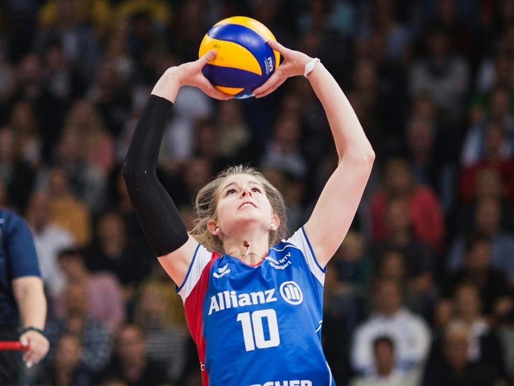 Zum ersten Mal im Viertelfinale: Allianz MTV Stuttgart