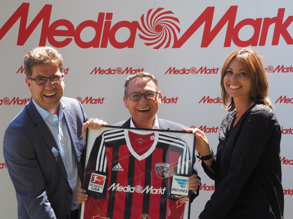 Media Markt wird neuer Sponsor bei Ingolstadt