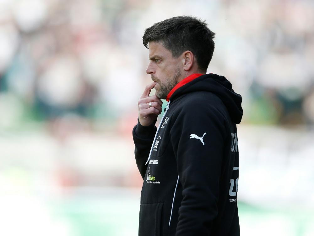 Halle entlässt Ziegner nach 3:5 gegen Unterhaching