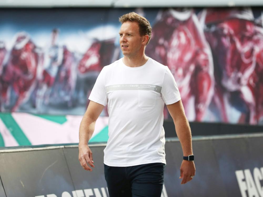 Trainer Julian Nagelsmann freut sich über Fan-Rückkehr