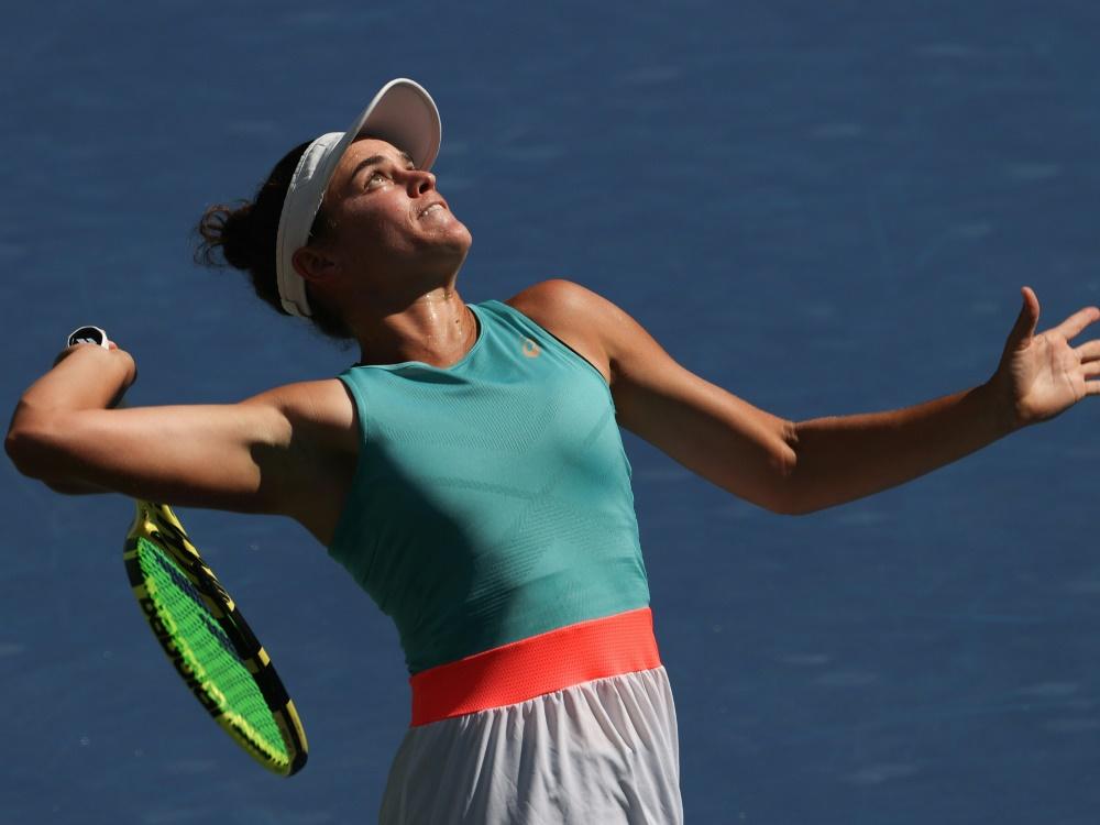 Jennifer Brady erreicht das Halbfinale der US Open