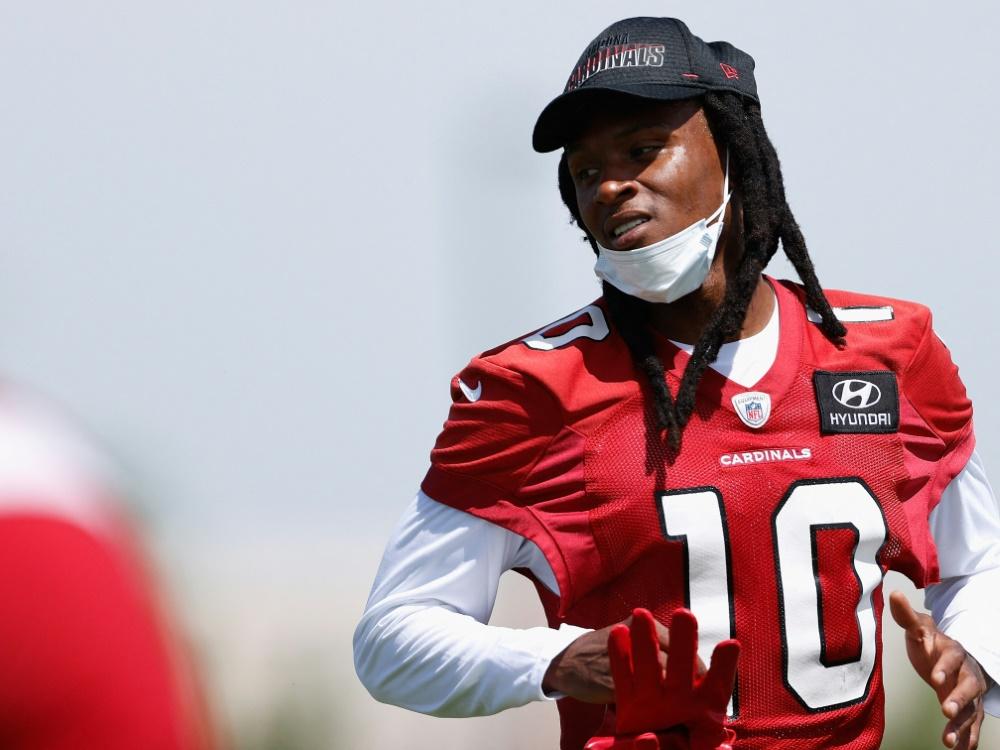 Receiver Hopkins stellt NFL-Karriere infrage