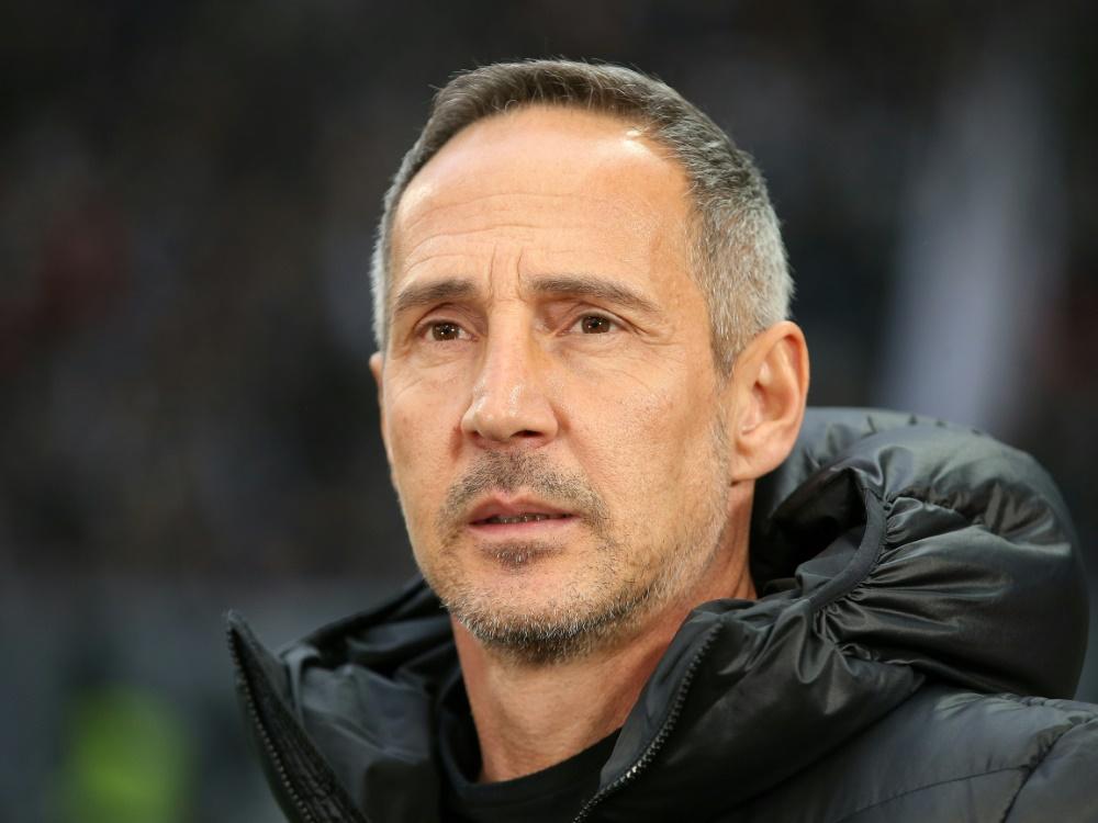 Adi Hütter und sein Team gewannen 9:0