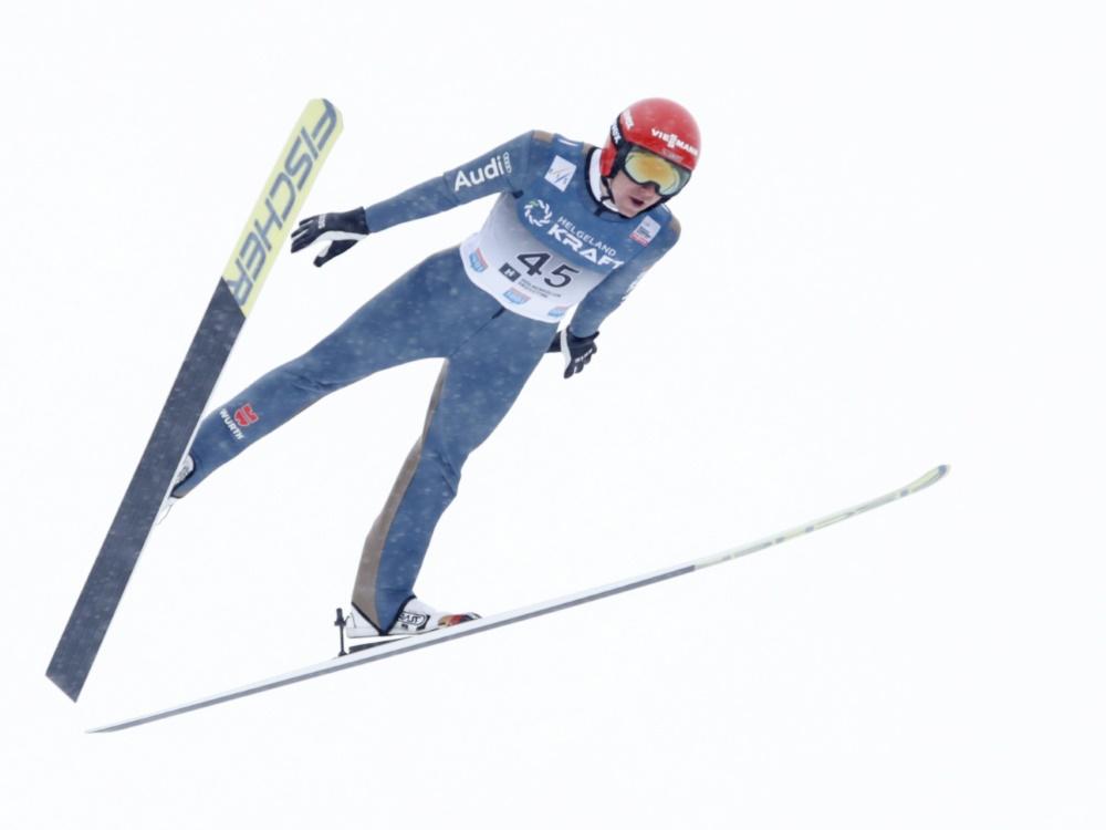 Vinzenz Geiger erreichte in Kuusamo den zweiten Rang