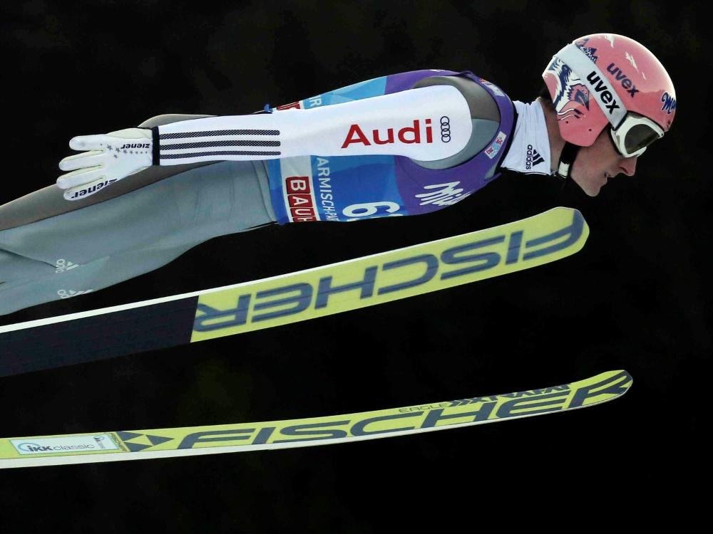 Severin Freund wird in Oberstdorf individuell trainieren