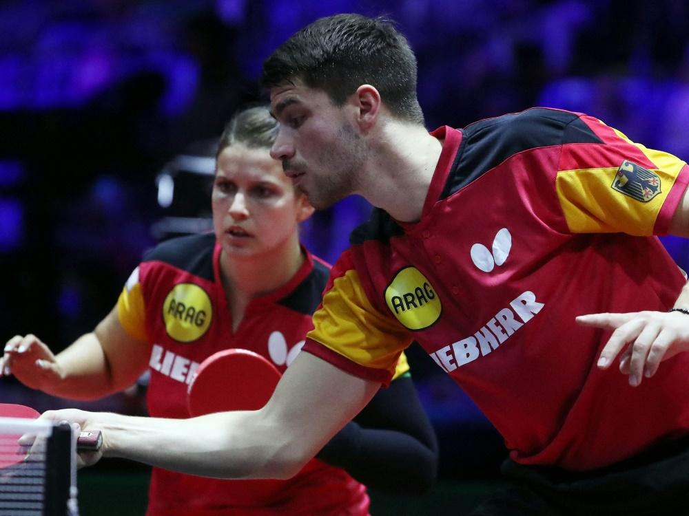 Patrick Franziska und Petrissa Solja verpassen Medaille