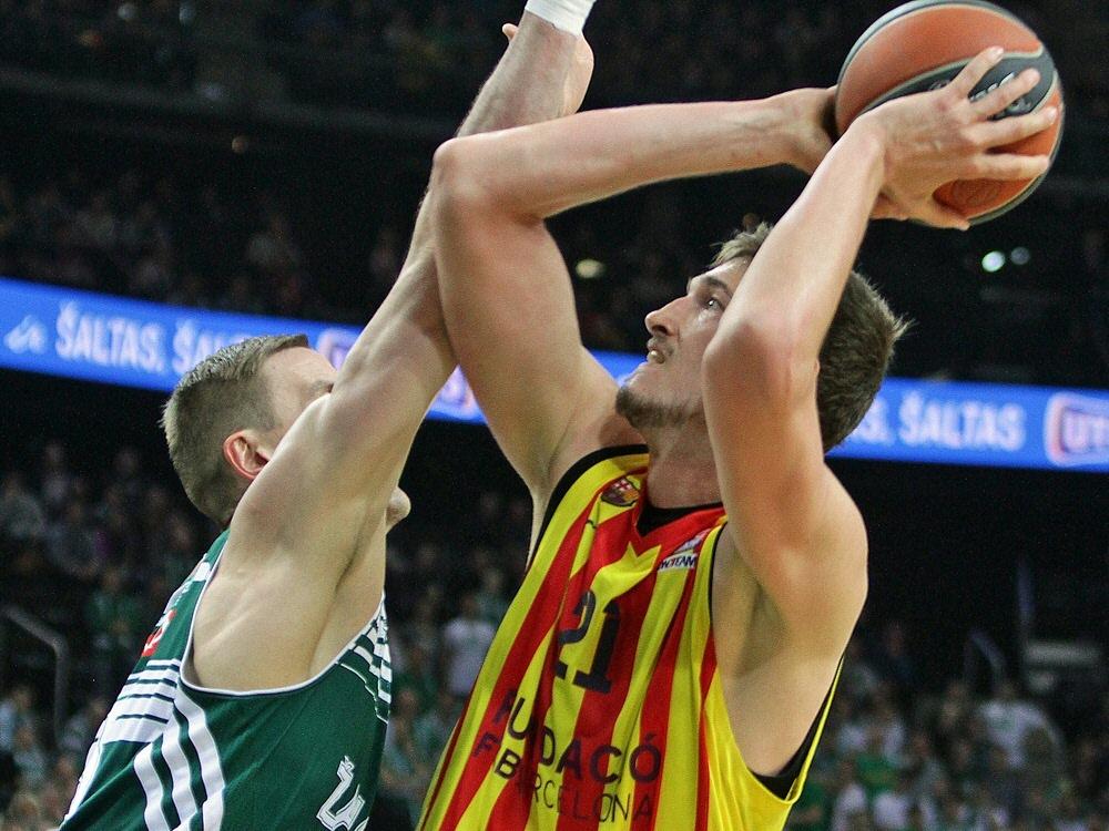 Tibor Pleiß ist der neunte Deutsche in der NBA