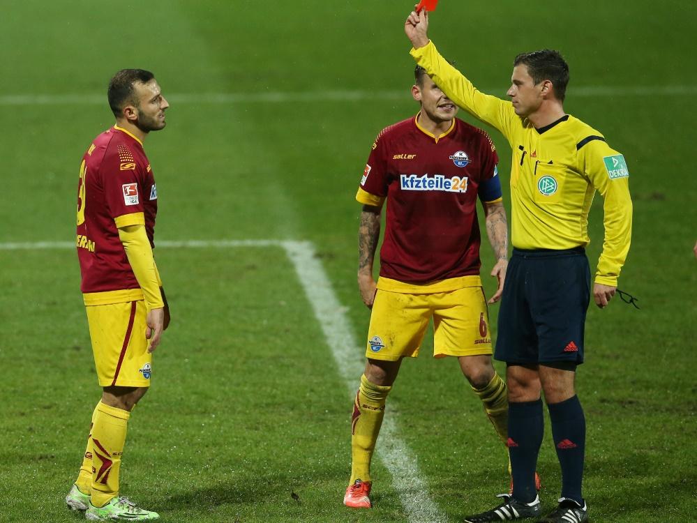 Süleyman Koç wird den Paderbornern zwei Spiele fehlen