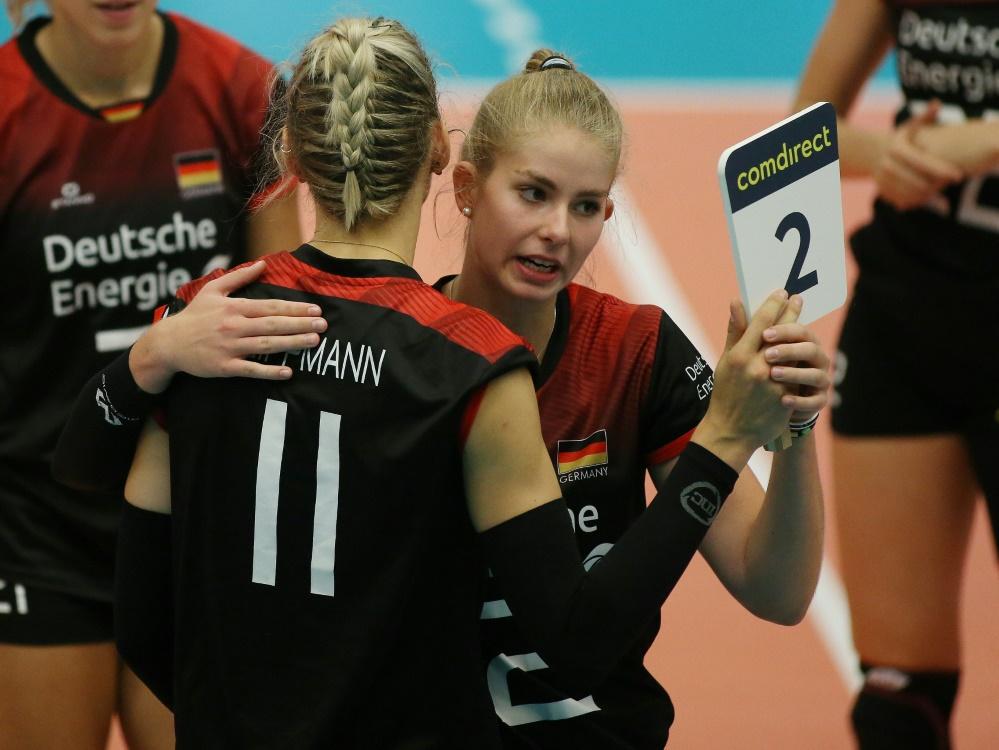 Pia Kästner (r.) wechselt zu ASPTT Mülhausen