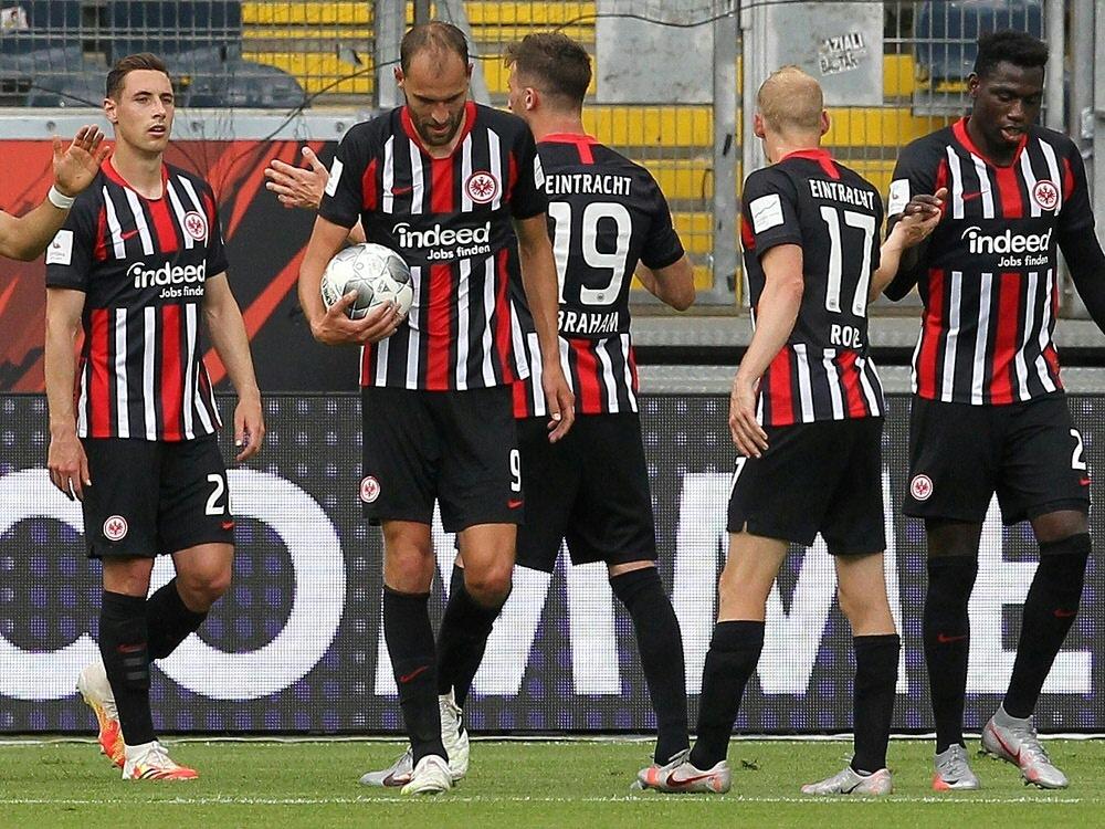 Erste Testreihe: Keine positiven Befunde bei Eintracht Frankfurt