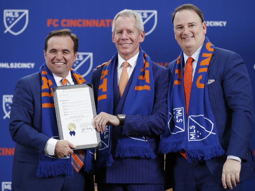 Der FC Cincinnati wurde als 24. Team in die MLS aufgenommen