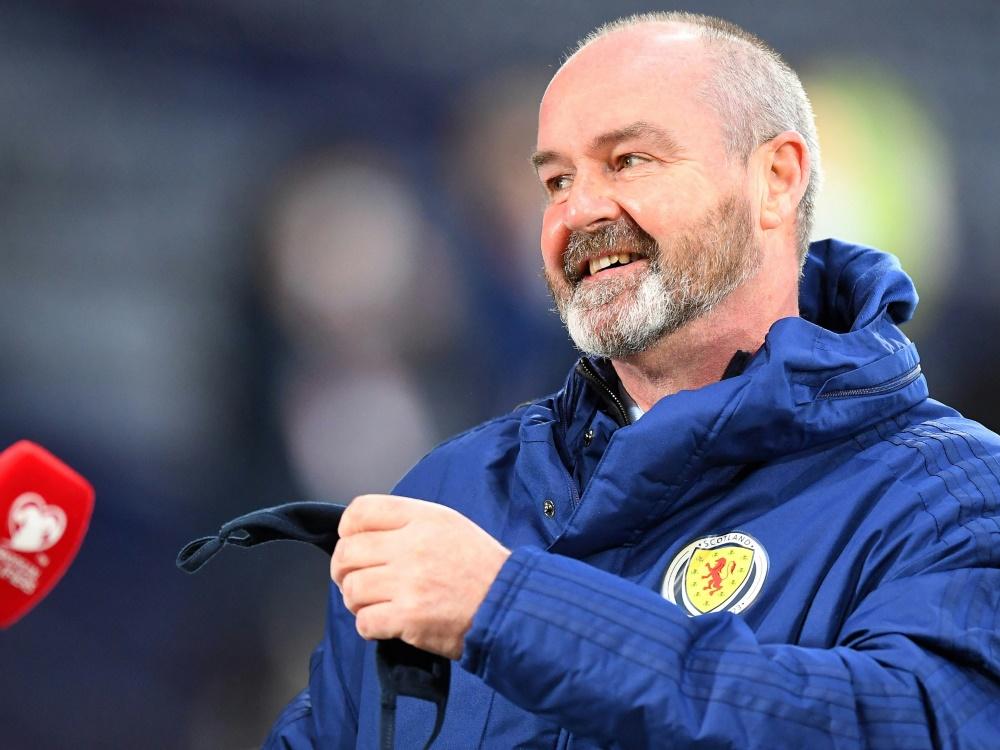 Steve Clarke will mit Schottland die Fans begeistern
