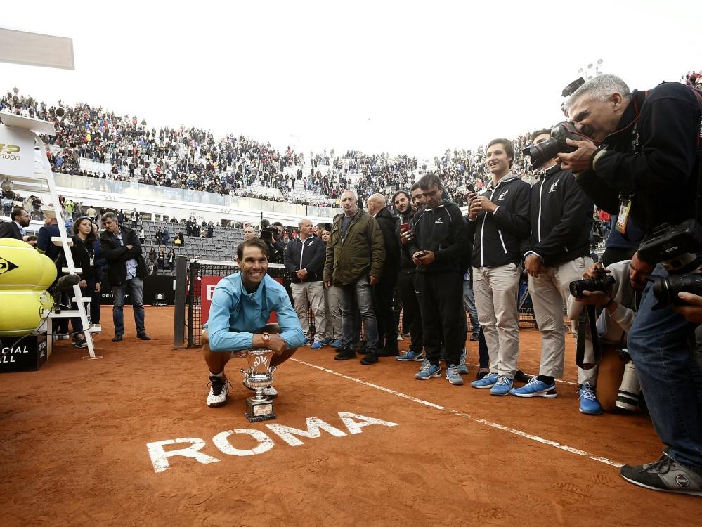 Beim Masters-Turnier in Rom werden keine Zuschauer dabei sein