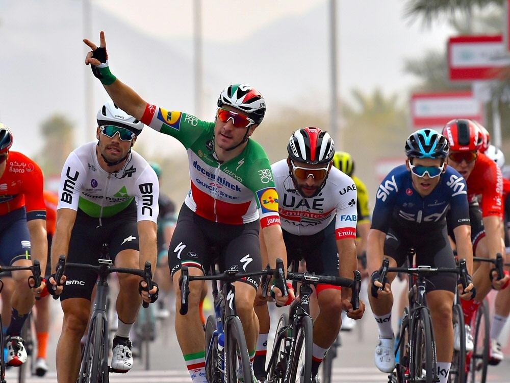 Tour de Suisse: Elia Viviani gewinnt die fünfte Etappe
