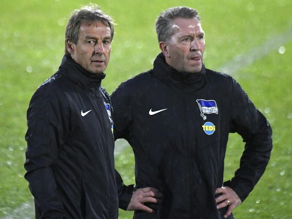 Jürgen Klinsmann räumt Köpke-Verbleib bei Hertha BSC wenig Chancen ein