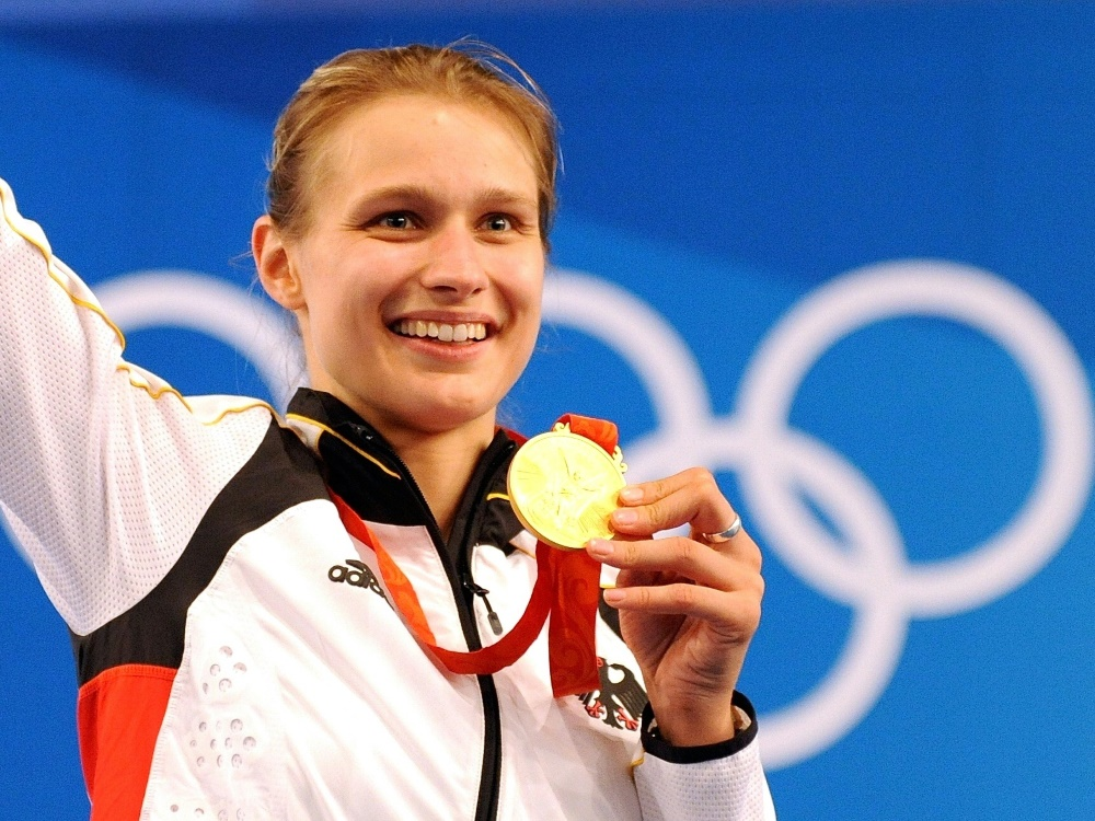 Olympiasiegerin Heidemann erstmals Mutter