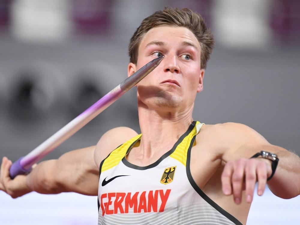 Thomas Röhler wird bei den DM nicht antreten