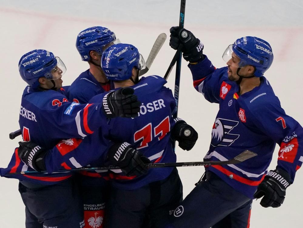 Champions Hockey League: Adler Mannheim siegt 3:2