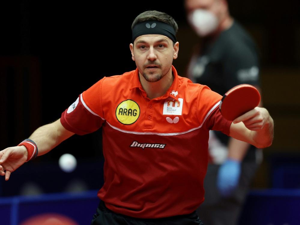 Tischtennis-Star Timo Boll peilt den Pokalsieg an