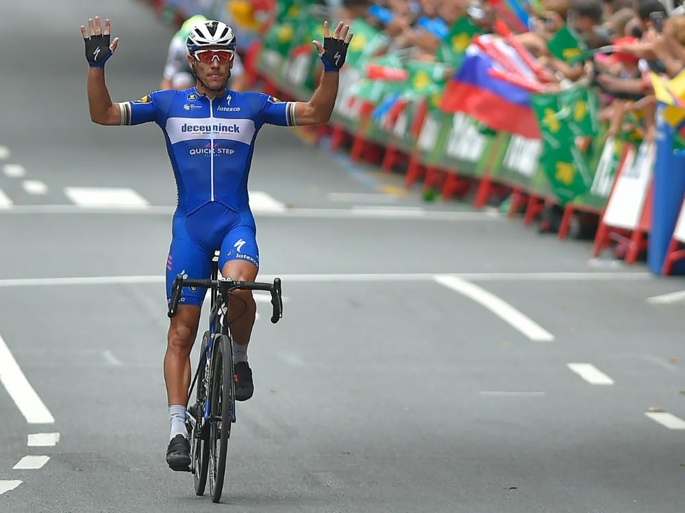 Gewann die 12. Etappe der Vuelta: Philippe Gilbert