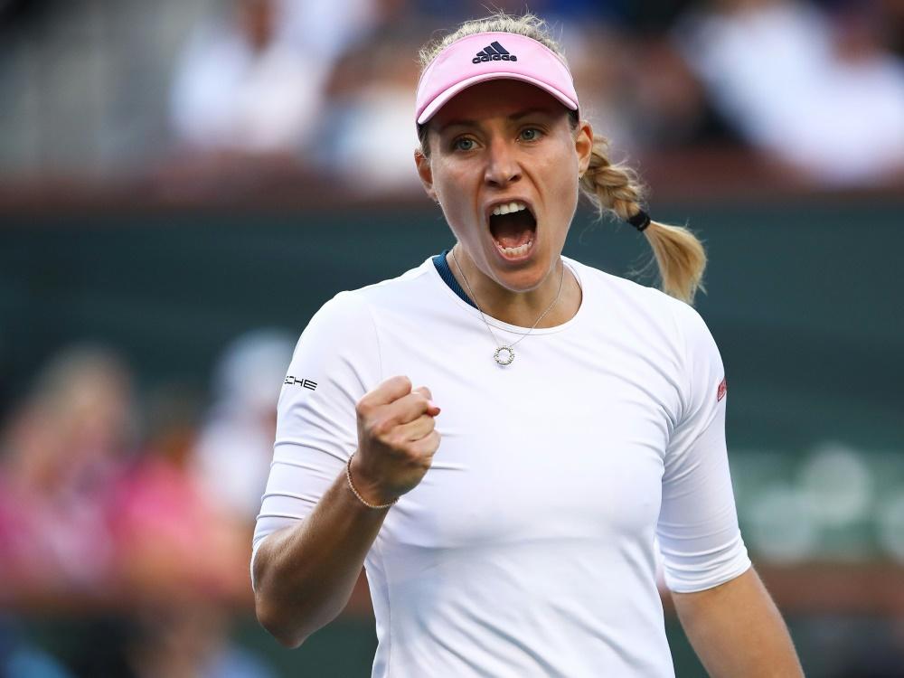 Angelique Kerber steht im Finale von Indian Wells