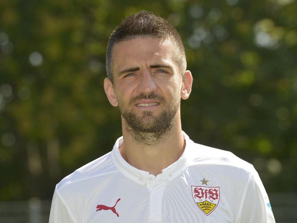 Vedad Ibisevic traf gegen FK Laci doppelt
