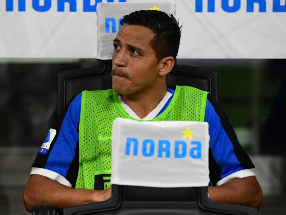 Alexis Sanchez wird Inter Mailand vorerst fehlen