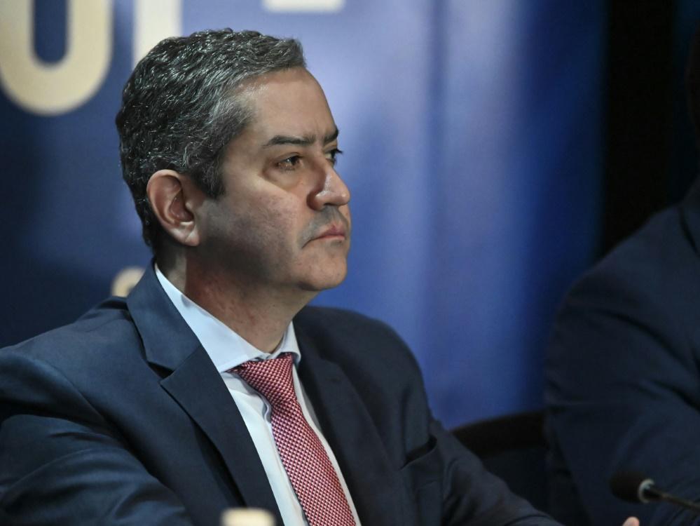 Rogerio Caboclo wurde suspendiert