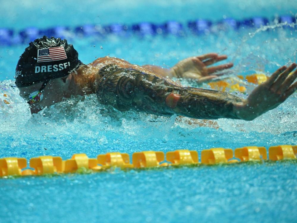 Caeleb Dressel bricht Weltrekord von Michael Phelps