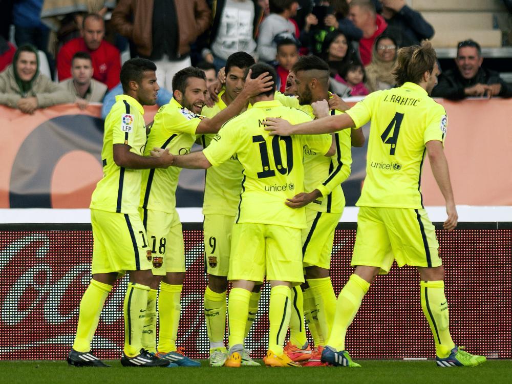 FC Barcelona beendet die Negativserie