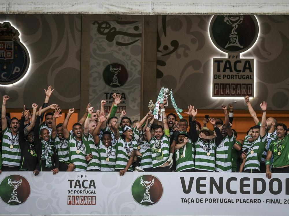Sporting Lissabon zum 17. Mal Pokalsieger