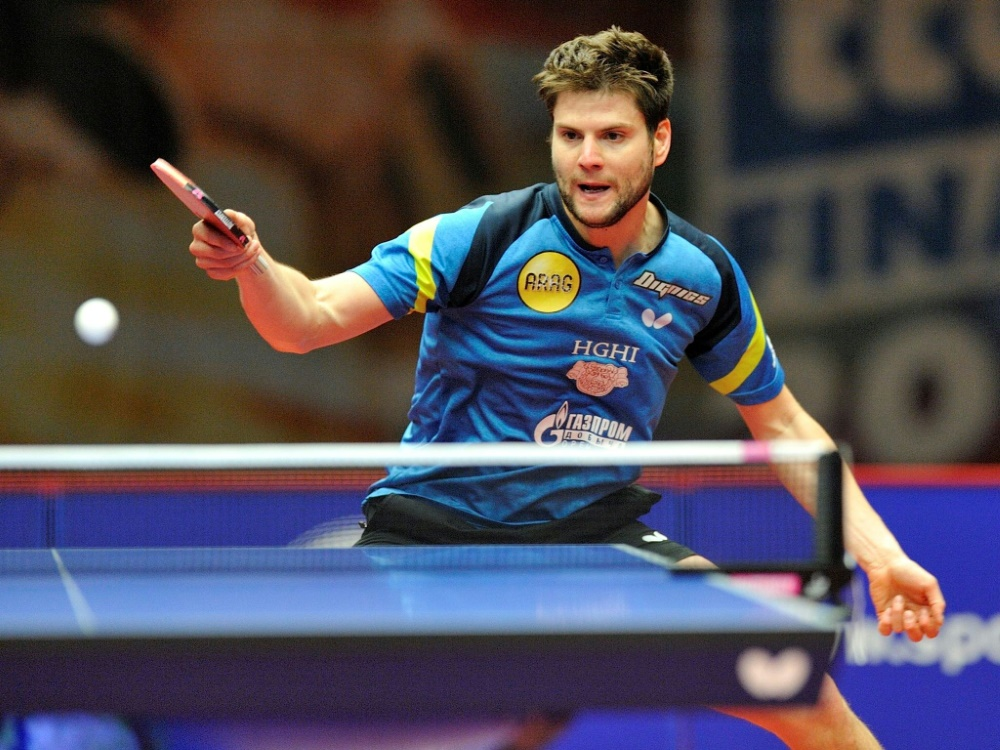 Sicherte sich den Turniersieg: Dimitrij Ovtcharov