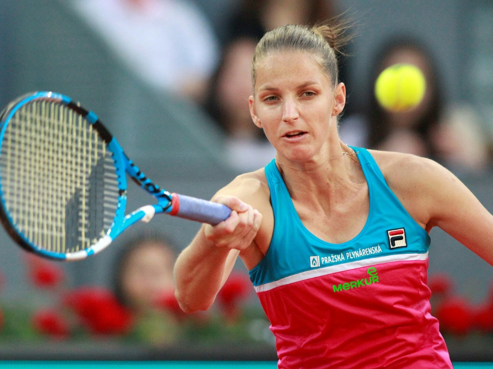 Karolina Pliskova hatte ihre Emotionen nicht im Griff