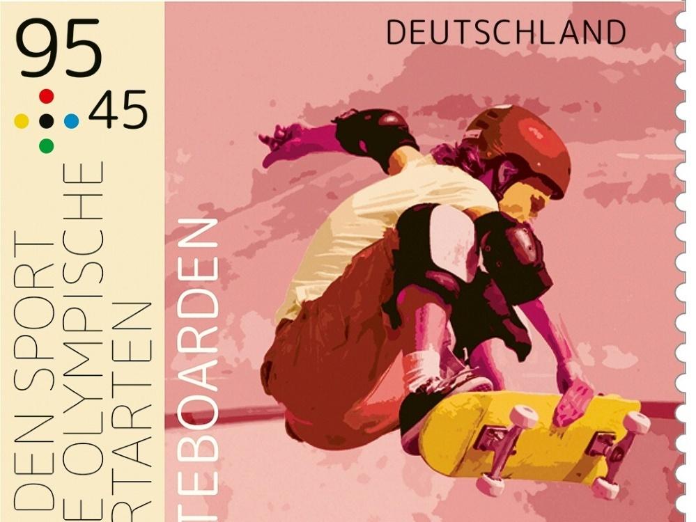 Deutsche Sporthilfe präsentiert neue Sportbriefmarken