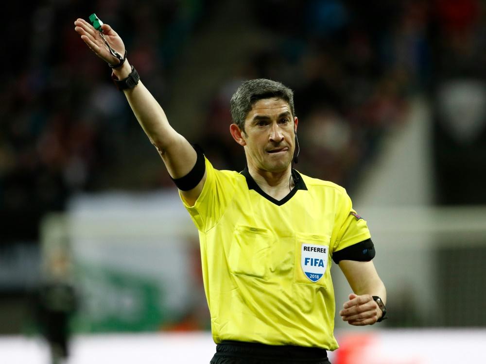 Pfeift das Finale der Nations League: Alberto Undiano