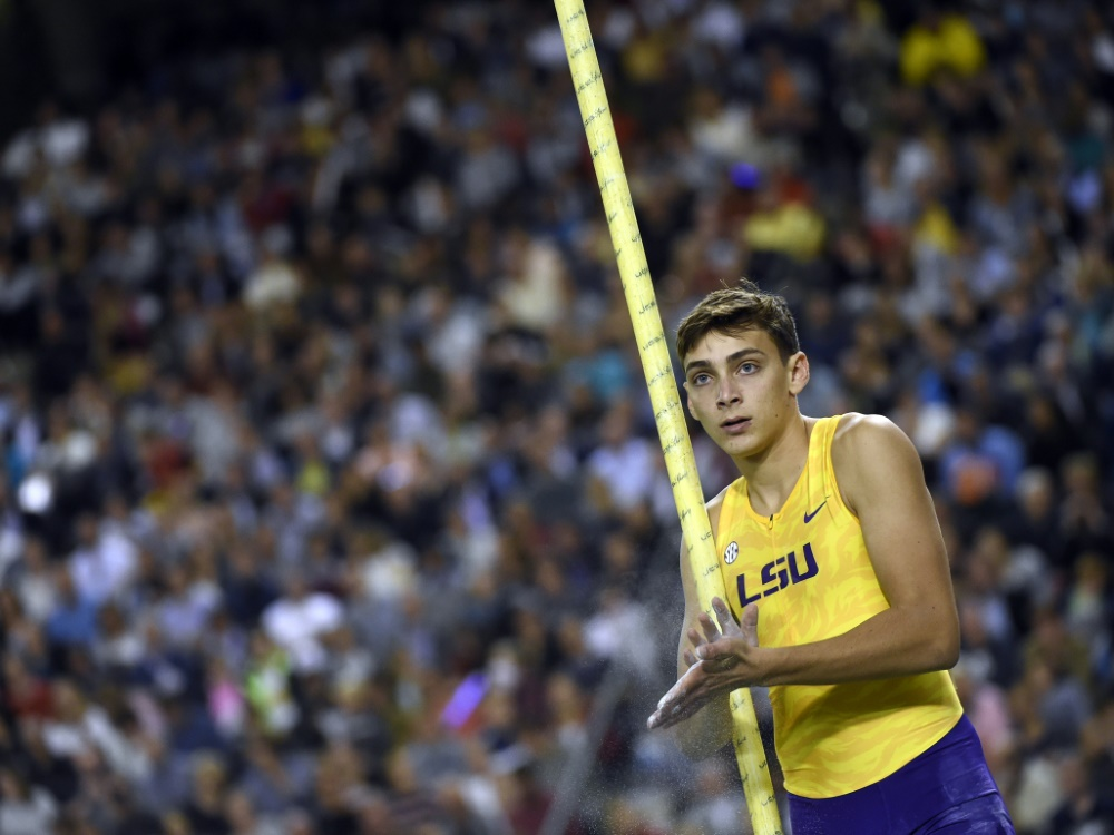 Armand Duplantis hat erneut sechs Meter übersprungen