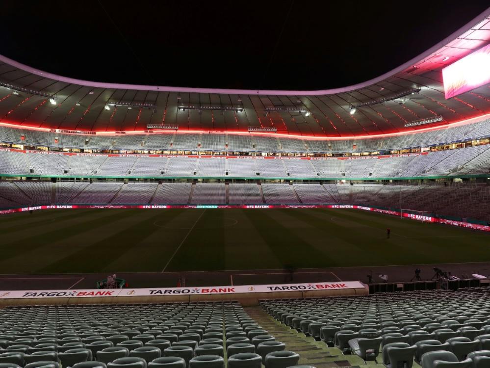 Ohne Zuschauerzulassung droht das EM-Aus für München