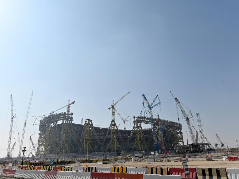 Die Baustellen in Katar entsprächen dem Standard in Mitteleuropa