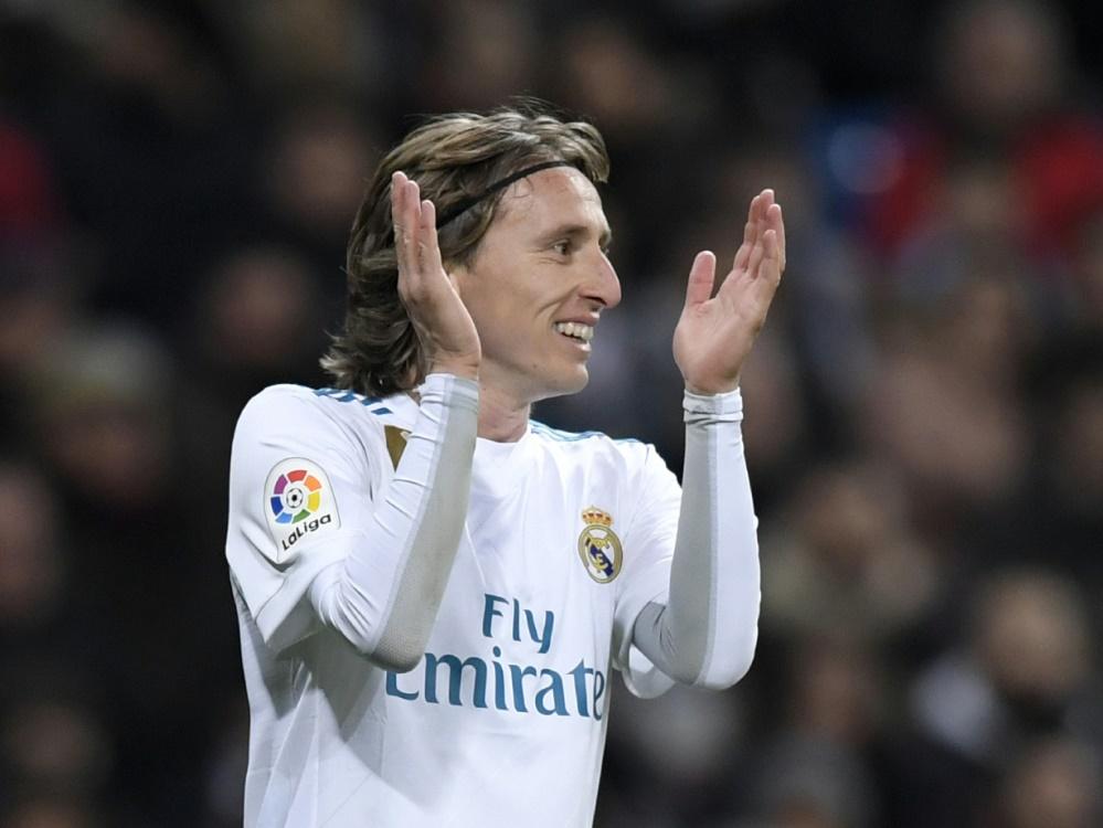Luka Modric soll einen neuen Vertrag unterzeichnen