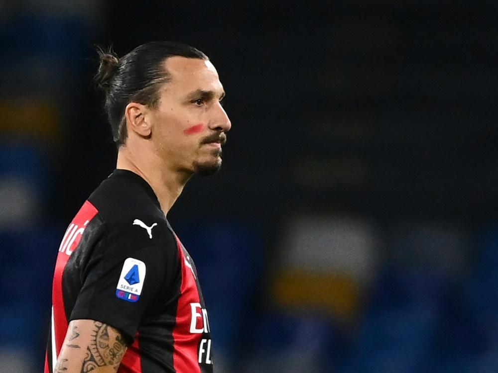 Ibrahimović zeigt sich über die Verwendung seiner Person nicht glücklich