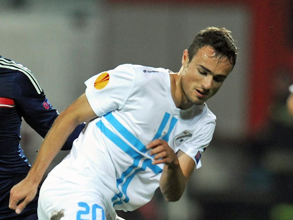 Zoran Kvrzić traf zum 2:0 gegen Dinamo Zagreb
