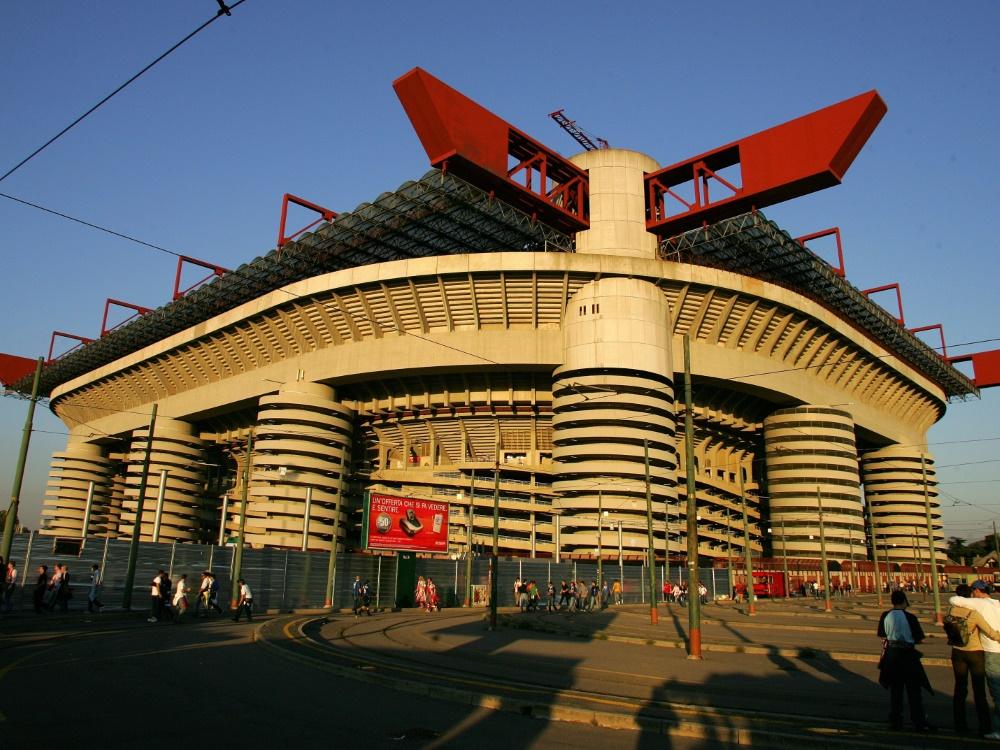 Kein Denkmalschutz für das Giuseppe-Meazza-Stadion